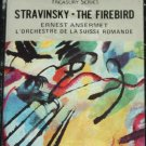 Stravinsky The Firebird Ernest Ansermet orchestra cassette tape