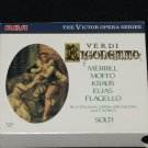 Verdi Rigoletto cd 2 disc set - Italiana Opera Orchestra and Chorus Solti music cds
