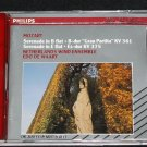 Mozart CD - Serenade in B flat B-dur Gran Partita Serendade E flat Es-dur KV 375 classical music cd