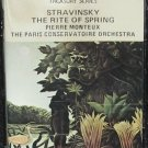 New Rite of Spring Stravinsky classical music cassette Pierre Monteux Paris Conservatoire Orchestra