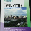 Twin Cities tour book travel book visitors guide for Minneapolis & St. Paul book