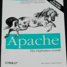 Apache - web server platform book computer web administrator BOOK WITH CD-ROM unix win32
