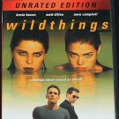 Wild Things Matt Dillon Kevin Bacon DVD action thriller detective movie film dvd