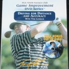 NEW Driving for Distance and Accuracy golf instruction dvd instructional Tom Lehman game golfer dvd