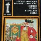 BRAND NEW German Baroque Trumpet concerti Hertel Fasch Stoelzel Biber music cassette tape