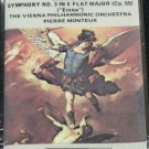 Beethoven Symphony No. 3 Vienna Philharmonic Orchestra Monteux music cassette tape