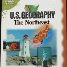 U.S. Geography cd-rom The Northeast - geographic educational science cd-rom