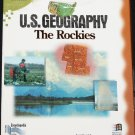 U.S. Geography cd-rom - Rockies geograpic science educational cd-rom