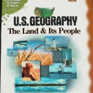 U.S. Geography The Land and It's People geographic educational science cd-rom