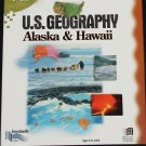 U.S. Geography cd-rom Alaska Hawii geographical educational science cd-rom