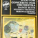 Bartok Concerto Orchestra dance suite music cassette tape