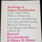 Readings in Value Clarification book by Howard Kirschembaum Sidney B. Siom