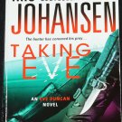Taking Eve Mystery Thriller paperback book novel by Johansen