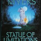 Statue of Limitations mystery novel paperback book by Tamar Myers