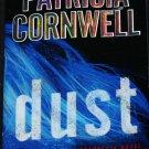 DUST forensic crime novel by Patricia Cornwel suspense thriller paperback book