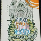 Memo For The Underground church youth philosophy religious Christian Jesus religion book Ted Ward