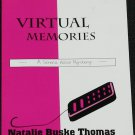signed Virtual Memories mystery novel - book by Natalie Buske Thomas