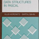 Fundamentals of Data Structures in Pascal computer program programming book by Horowitz Sahni