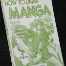 How to Draw Manga anime cartoon art drawing instruction book Ozaki Compiling Characters Vol 1