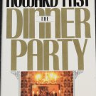 The Dinner Party novel hardcover book by Howard Fast - fiction suspense reading
