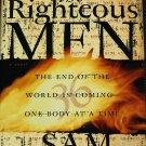 The Righteous Men thriller suspense novel biblical bible prophecies hardcover book Sam Bourne