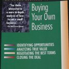 Buying Your Own Business Identifying Opportunities- value negotiating closing deal book Russell Robb