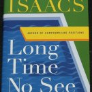 Long Time No See Judith Singer series suspense crime story novel book by Susan Isaacs
