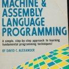 Machine & Assembly Languauge Programming Book - computer program programmer