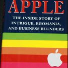 Apple The Inside Story of Intrigue Egomania and Business Blunders hardcover book by Jim Carlton