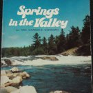 Springs in the Valley Christian religious inspiration devotional book by Mrs. Charles E. Cowman