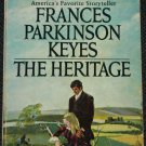 1968 The Heritage paperback historical fiction novel Irish book by Francis Parkinson Keyes
