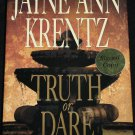 (signed) (first edition) Truth Or Dare by Jayne Ann Krentz - thriller suspense novel hardcover book