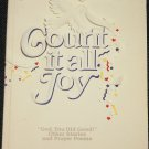signed Count It All Joy Barbara Joiner religion Christian religious spiritual God spirituality book
