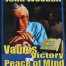 John Wooden sports motivation instruction values victorydvd by UCLA basketball coach dvd