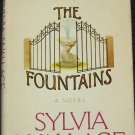 1976 The Fountains book novel by Sylvia Wallace hardcover book non-fiction