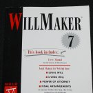 WillMaker 7 legal power of attorney law inheritance computer program will maker manual book