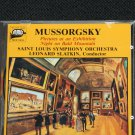 Mussorgsky music cd Pictures at an Exhibition Night On Bald Mountain cd