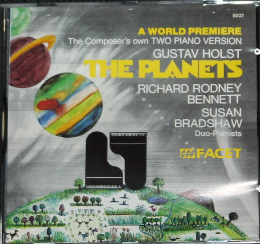 Gustav Holst The Planets composer's own two-piano version pianists music cd