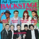 Backstage Pass teen book Full Acess To Music's Best and Brightest young pop music bands book