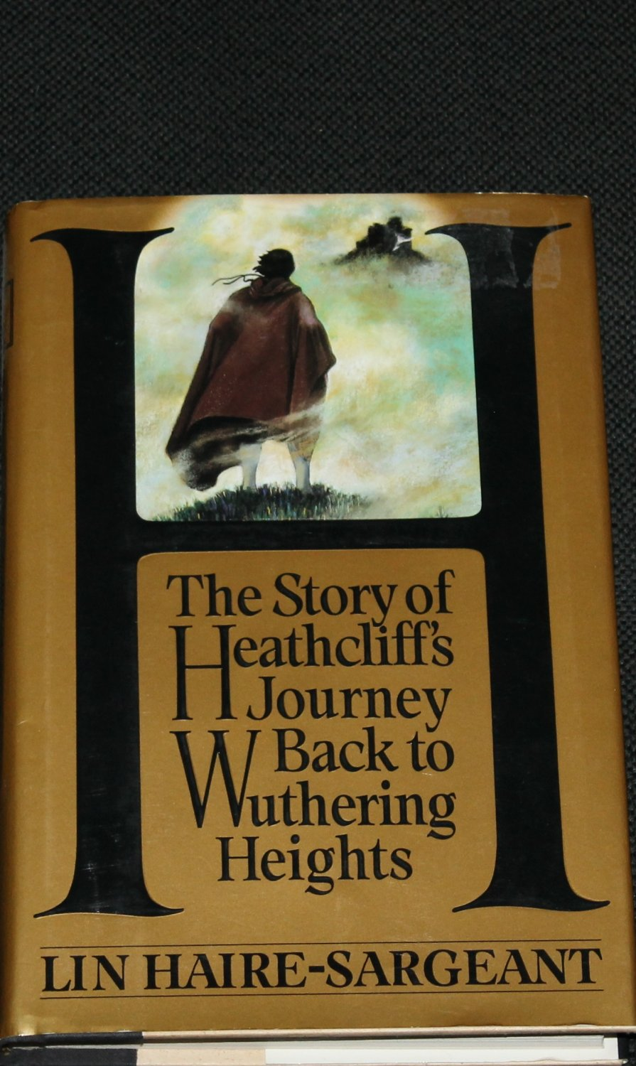 H: The Story of Heathcliff's Journey Back to Wuthering Heights novel book Lin Haire-Sargeant