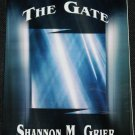 signed copy The Gate - poems poetry book by Shannon A Grier