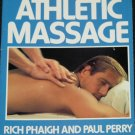 Athletic Massage book sports healing book by Rich Phaigh & Paul Perry