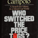 Who Switched the Price Tags? Christian values book - religious issues book Anthony Campolo