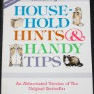 Household Hints & Handy Tips book by Reader's Digest - cost time saving tips advice book