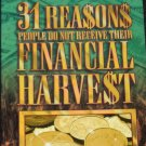 31 Reasons People Do Not Recieve Their Spiritual Harvest book by Mike Murdock