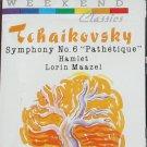 Tchaikovsky Symphony No. 6 Pathetique Hamlet Lorin Maazel music cassette tape