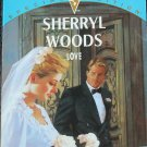 Love - romance novel paperback book by Sherryl Woods love romantic fiction reading