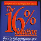 16% Solution business book by Joel S. Moskowitz