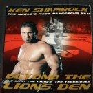 Ken Shamrock Beyond The Lion's Den fighting techniques - UFC shoot fighting Jujitsu biography book