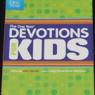 The One Year Devotions For Kids book by childrens spiritual Christian religious book
